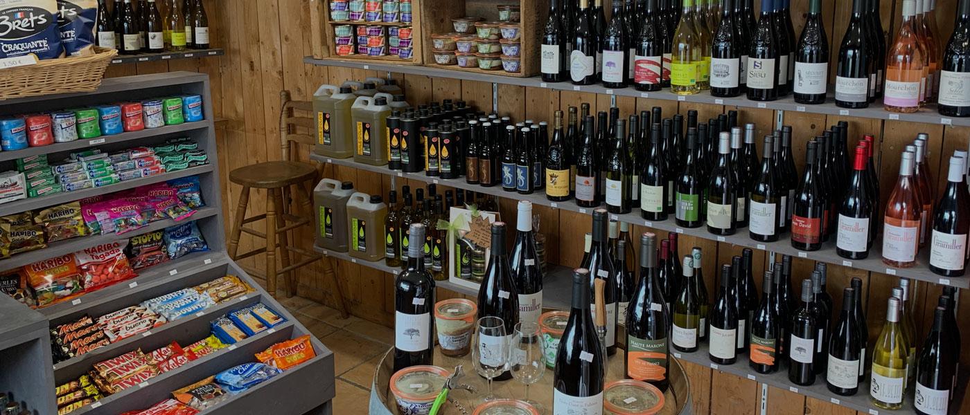 Boutique vins Palpacuer